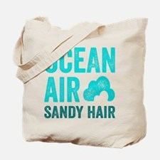 Ocean Air Sandy Hair Tote Bag