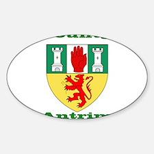 County Antrim COA Decal