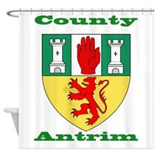 County Antrim COA Shower Curtain