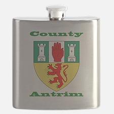 County Antrim COA Flask