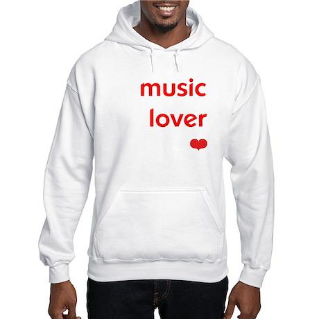 Music Lover   Hooded Sweatshirt