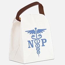 Caduceus NP (blue) Canvas Lunch Bag