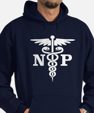 Caduceus NP (blue) Hoody