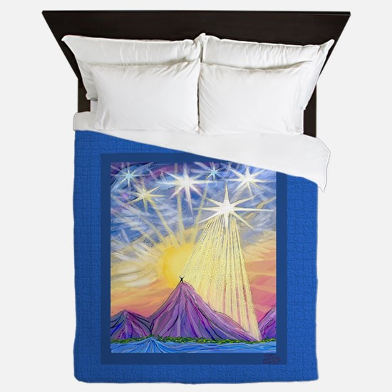 Angel Sky (Summit) Queen Duvet