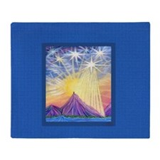 Angel Sky (Summit) Throw Blanket