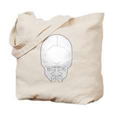 Skull Rear View Tote Bag