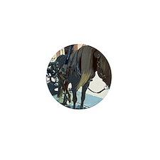 Horse and carriage e02 Mini Button
