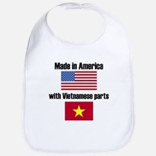 Made In America With Vietnamese Parts Bib