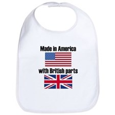 Made In America With British Parts Bib