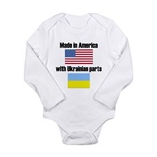 Made In America With Ukrainian Parts Body Suit
