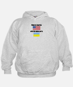 Made In America With Ukrainian Parts Hoody