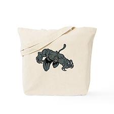 Panther Mascot Tote Bag