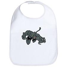 Panther Mascot Bib