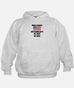 Made In America With Swedish Parts Hoody