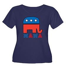 Republican Mama Plus Size T-Shirt