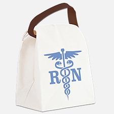Caduceus RN (blue) Canvas Lunch Bag