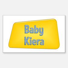 Baby Kiera Rectangle Decal