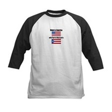 Made In America With Puerto Rican Parts Baseball J