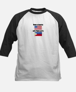 Made In America With Filipino Parts Baseball Jerse