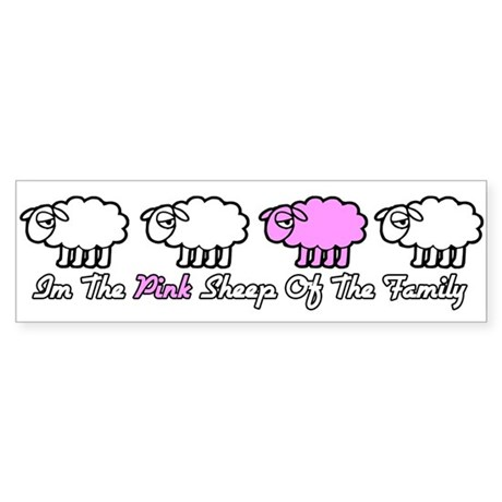 pink_sheep Bumper Sticker