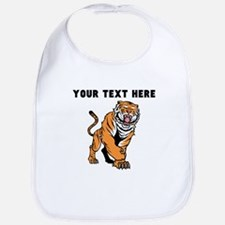 Custom Angry Bengal Tiger Bib