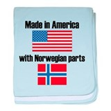 Made america with norwegian parts Blanket