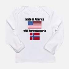 Made In America With Norwegian Parts Long Sleeve T
