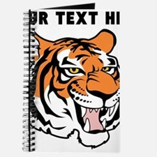 Custom Tiger Head Journal