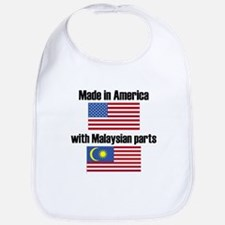 Made In America With Malaysian Parts Bib