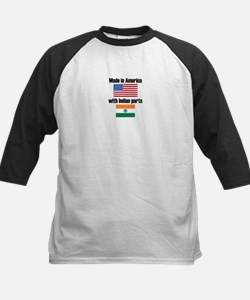 Made In America With Indian Parts Baseball Jersey