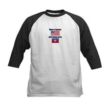 Made In America With Haitian Parts Baseball Jersey