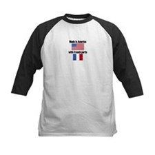 Made In America With French Parts Baseball Jersey