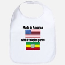 Made In America With Ethiopian Parts Bib