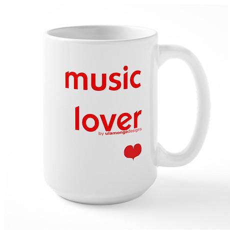 Music Lover | Large Mug