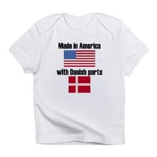 Made In America With Danish Parts Infant T-Shirt