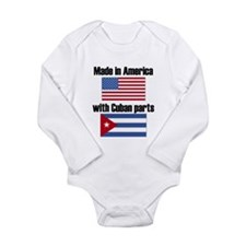 Made In America With Cuban Parts Body Suit