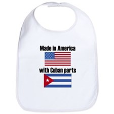 Made In America With Cuban Parts Bib