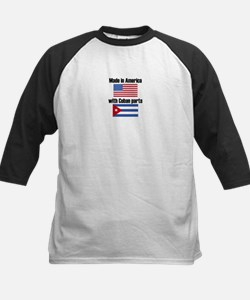 Made In America With Cuban Parts Baseball Jersey