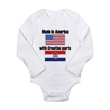 Made In America With Croatian Parts Body Suit