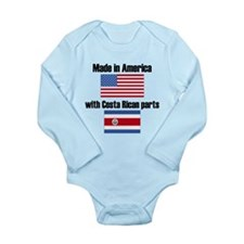 Made In America With Costa Rican Parts Body Suit