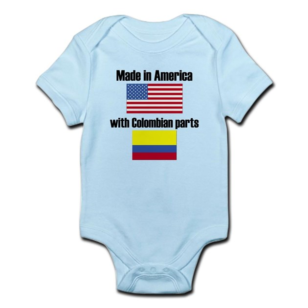 French Baby Gifts Australia : Made in america with colombian parts infant bodysuit