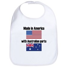 Made In America With Australian Parts Bib