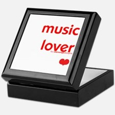 Music Lover | Keepsake Box