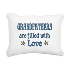 Grandfather Love Rectangular Canvas Pillow