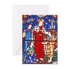 Rose Window Greeting Cards (Pk of 10)