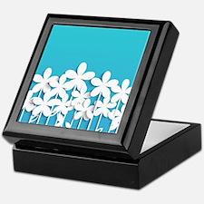 Pretty Flowers Keepsake Box