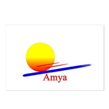 Amya Postcards (Package of 8)