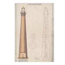 Cape May Light. Postcards (Package of 8)