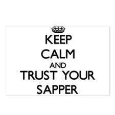 Keep Calm and Trust Your Sapper Postcards (Package