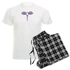 Peace Eyes (Buddha Wisdom Eyes) Pajamas